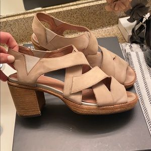 Jeffrey Campbell Leather Strap Heels